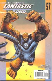 Ultimate Fantastic Four #57 (2008) Marvel comic book